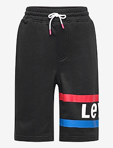 KNIT JOGGER SHORT - shorts - black