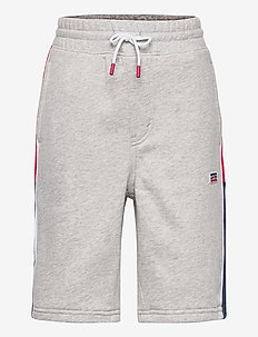 LVB JOGGER SHORTS - shorts - grey heather