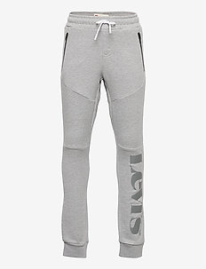 LVB LOGO ZIP KNIT JOGGER - joggings - perfect gray marl