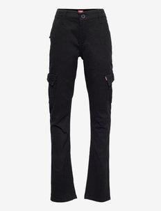 LVB TAPER XX CARGO CHINOS - trousers - black