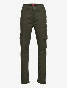 LVB TAPER XX CARGO CHINOS - trousers - thyme