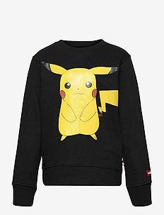 Levis X Pokemon Crewneck Sweatshirt - sweat-shirt - black