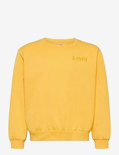 LVG DROP SHOULDER CREW - sweatshirts - daffodil