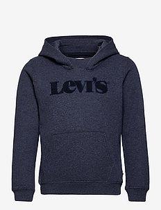 LVB GRAPHIC PULLOVER HOODIE - hoodies - peacoat heather