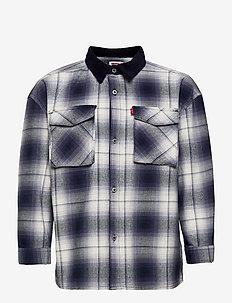 LVB LONG SLEEVE SHIRT JACKET - shirts - peacoat
