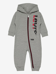 LVN PLAY ALL DAY COVERALL - langärmelig - grey heather