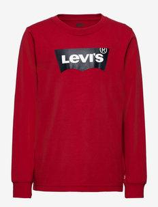 LVB L/S BATWING TEE - dlugi-rekaw - levis red