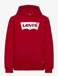 SWEAT SHIRT - bluzy z kapturem - levis red/ white