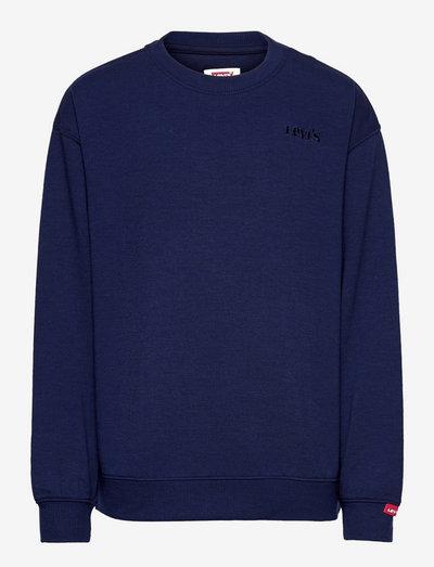 LVB GRAPHIC CRWNECK SWEATSHIRT - sweatshirts - peacoat