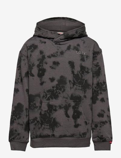 LVB TIE DYE PULLOVER HOODIE - hoodies - magnet gray