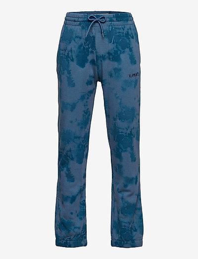 LVB TIE DYE RELAXED CORE JOGGR - sweatpants - aegean blue