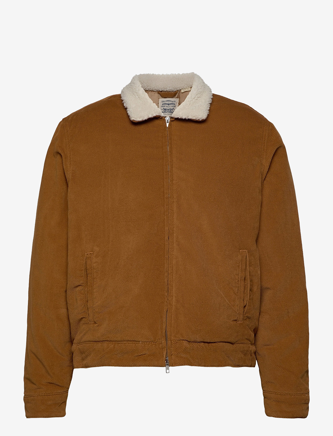 Levi's Made & Crafted - LMC QUILTED ZIP JACKET LMC DAR - denim jackets - neutrals - 1