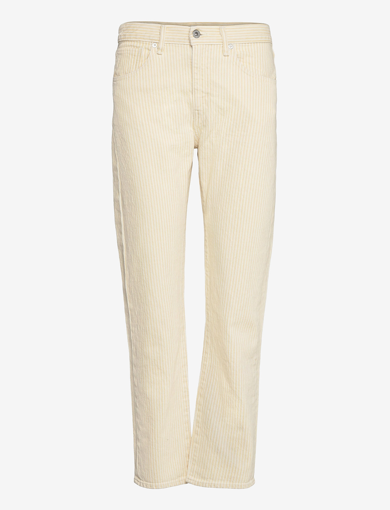 Levi's Made & Crafted - LMC PIPE STRAIGHT LMC SOLEIL - straight regular - yellows/oranges - 0