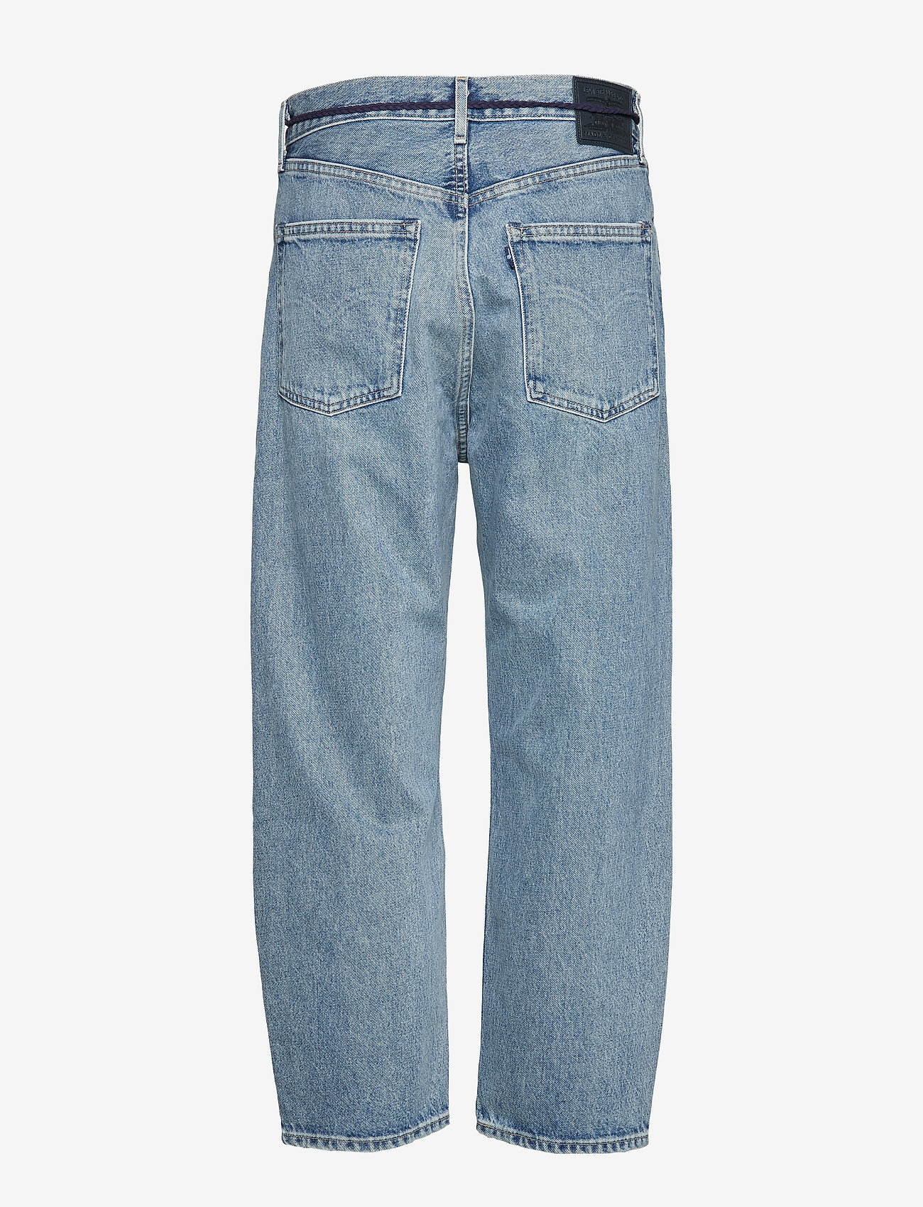Levi's Made & Crafted - LMC BARREL LMC LEGEND - boyfriend jeans - med indigo - worn in