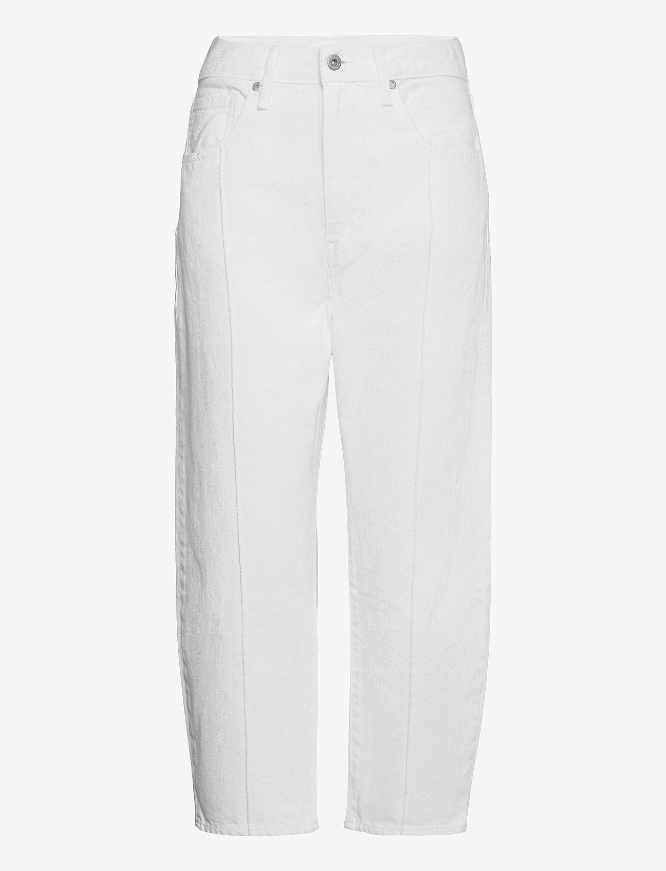 Levi's Made & Crafted - LMC BARREL LMC WHITE SAILS MOJ - mom jeans - neutrals - 0