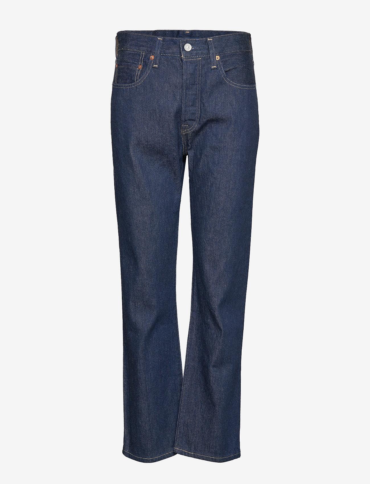 Levi's Made & Crafted - 501 CROP LMC RAW INDIGO - straight jeans - dark indigo - flat finish - 0