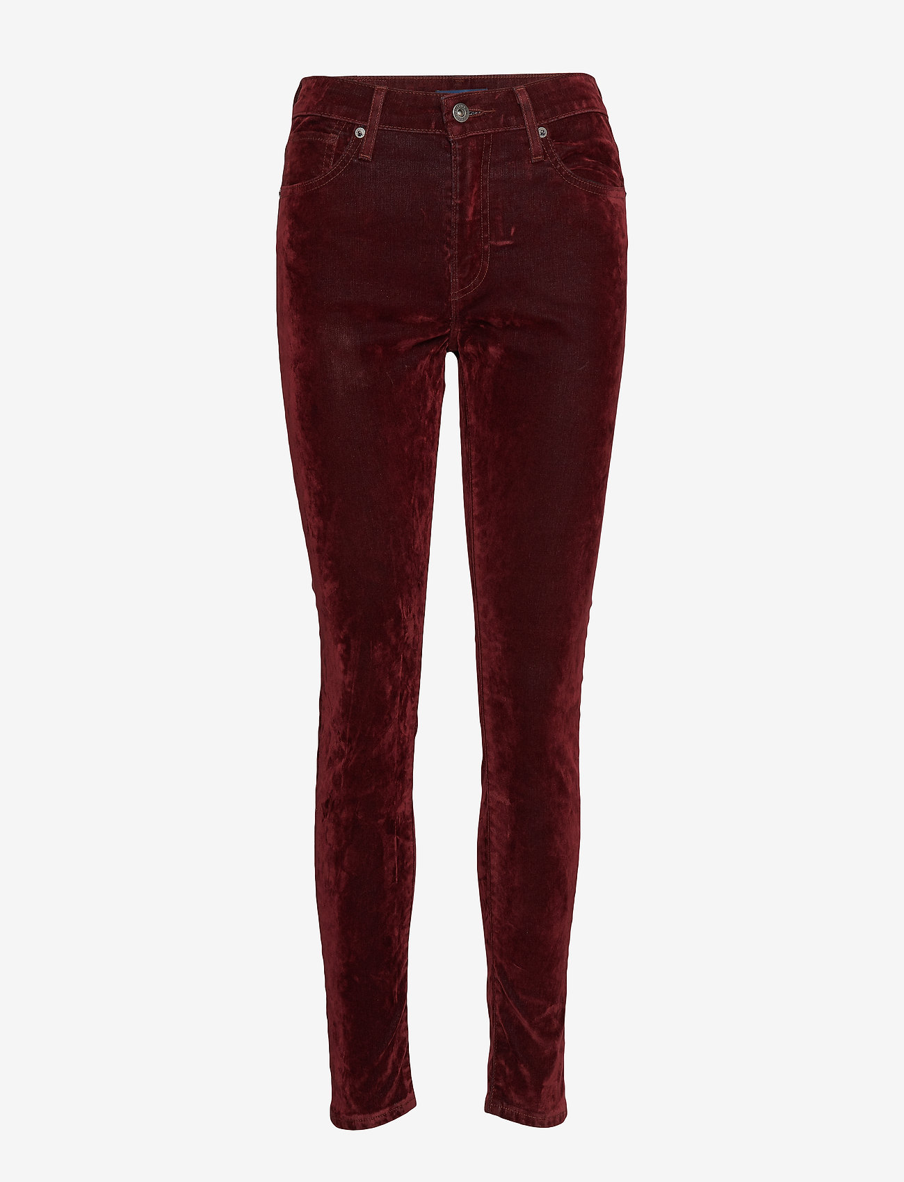 Levi's Made & Crafted - LMC 721 LMC VELVET ROPES - pantalons slim - reds