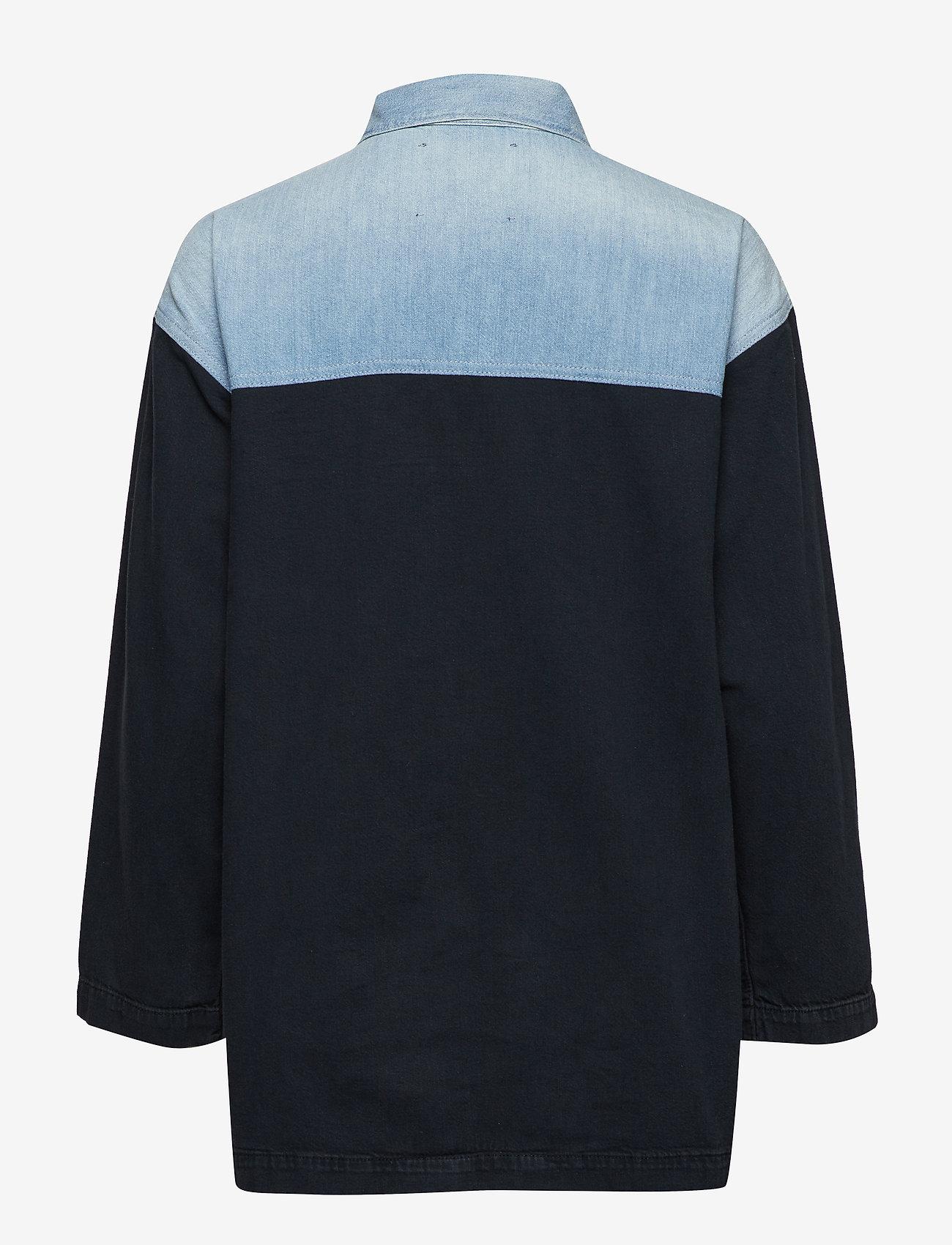 Levi's Made & Crafted - LMC TRUCKER CHORE COAT LMC COW - pitkähihaiset paidat - multi-color