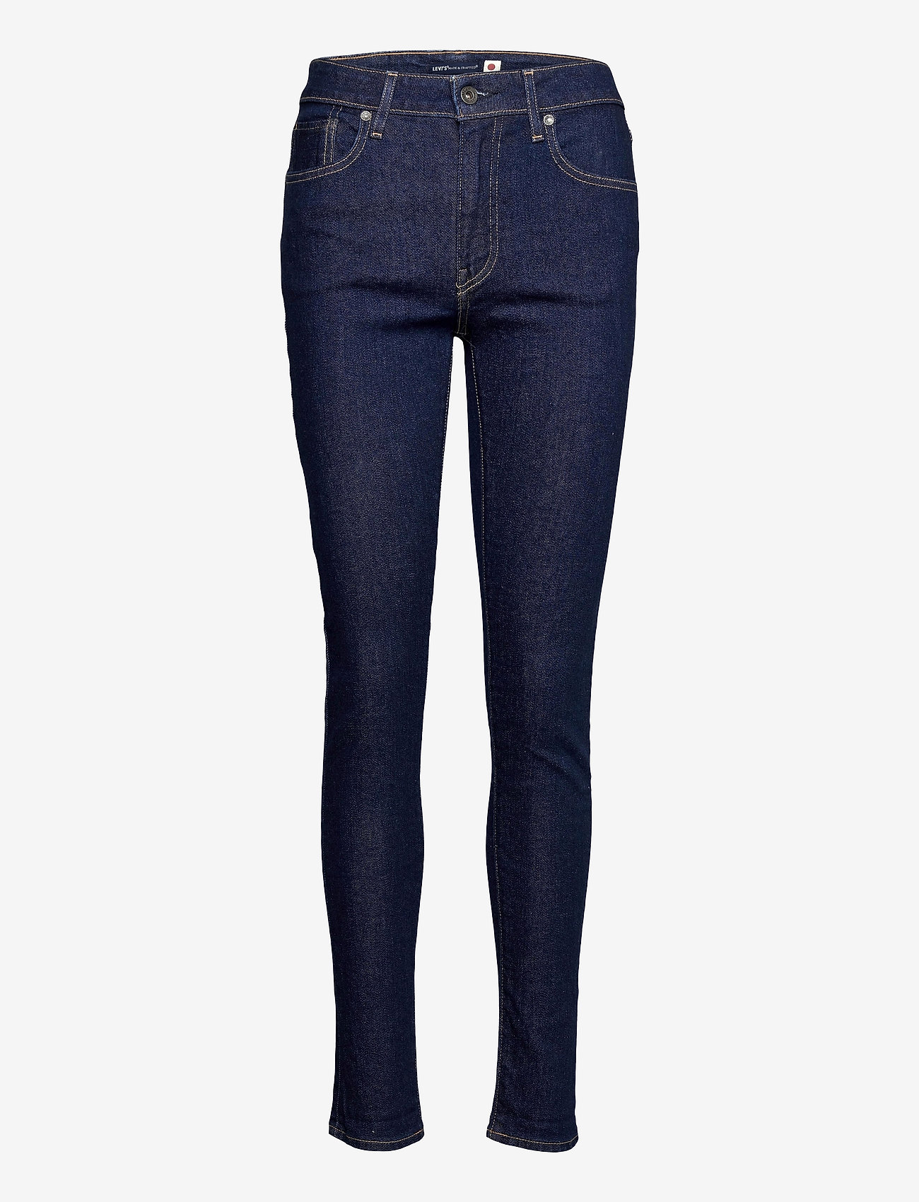 Levi's Made & Crafted - LMC 721 S LMC SKI SOFT RINSE - skinny jeans - dark indigo - flat finish - 0