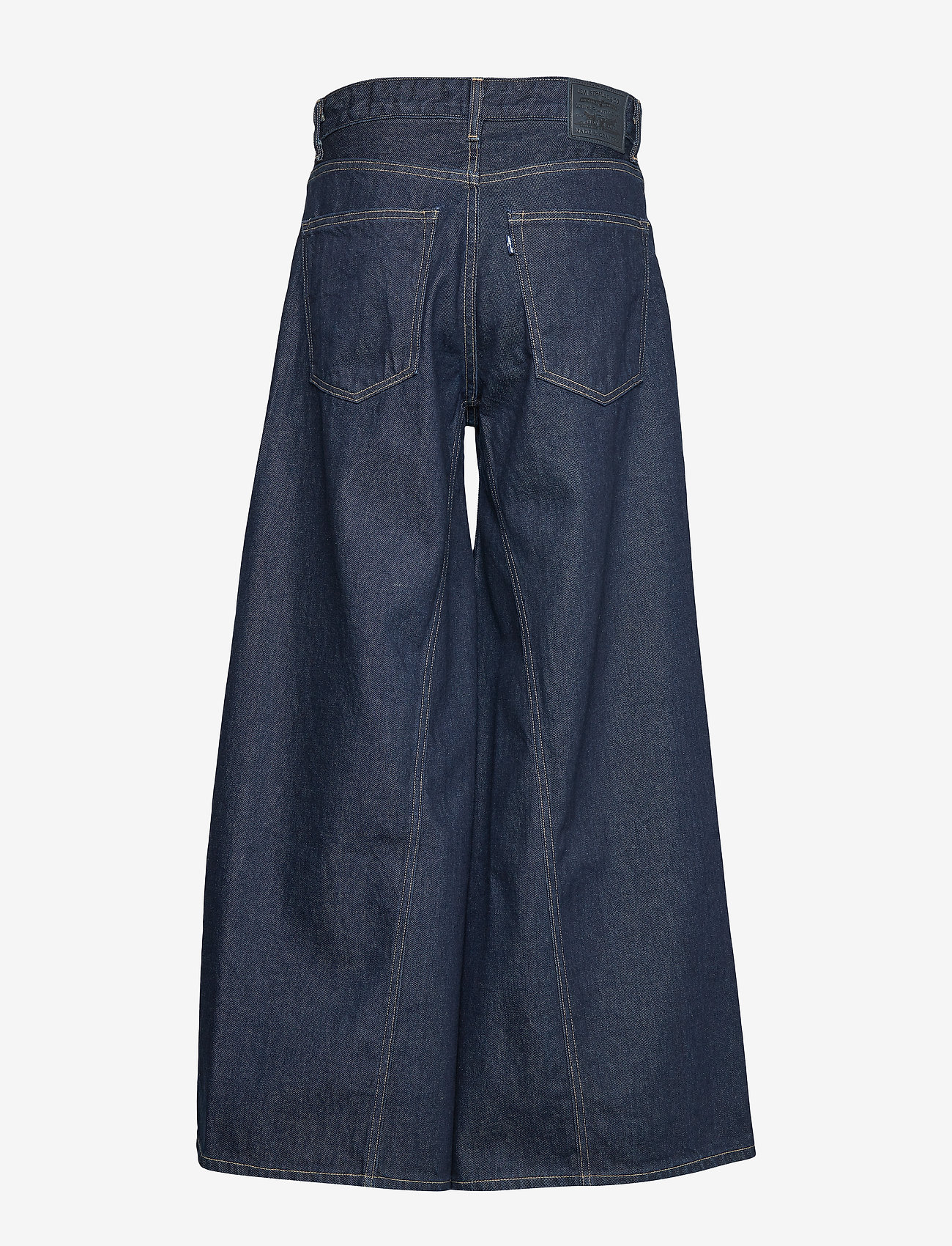Levi's Made & Crafted - LMC RANCHER WIDE LEG LMC FRESH - szerokie dżinsy - dark indigo - flat finish - 1