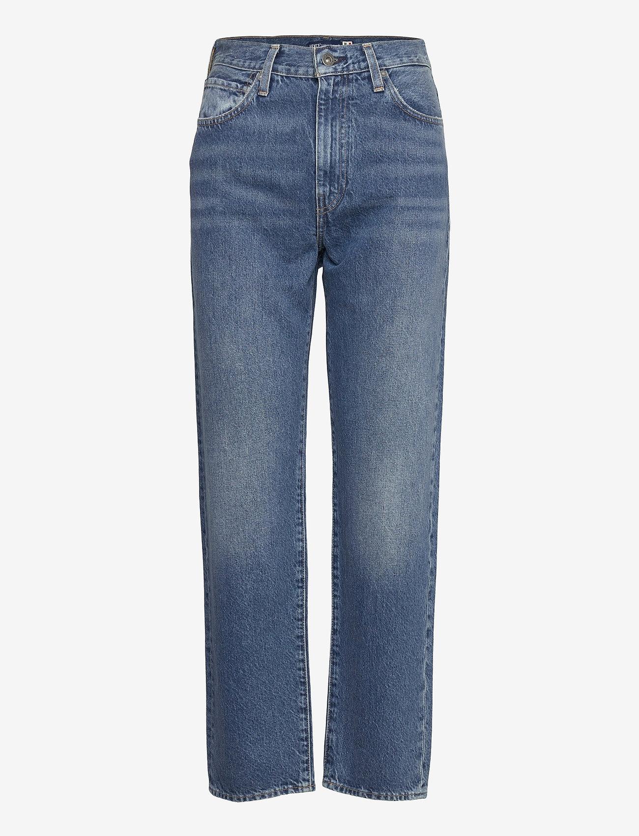 Levi's Made & Crafted - LMC THE COLUMN LMC SAPPHIRE - mom jeans - blacks - 0