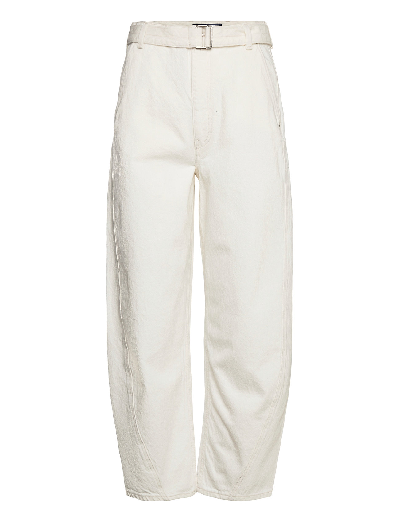Lmc Carved Trouser Lmc Avalanc Vide Bukser Hvid Levi's Made & Crafted