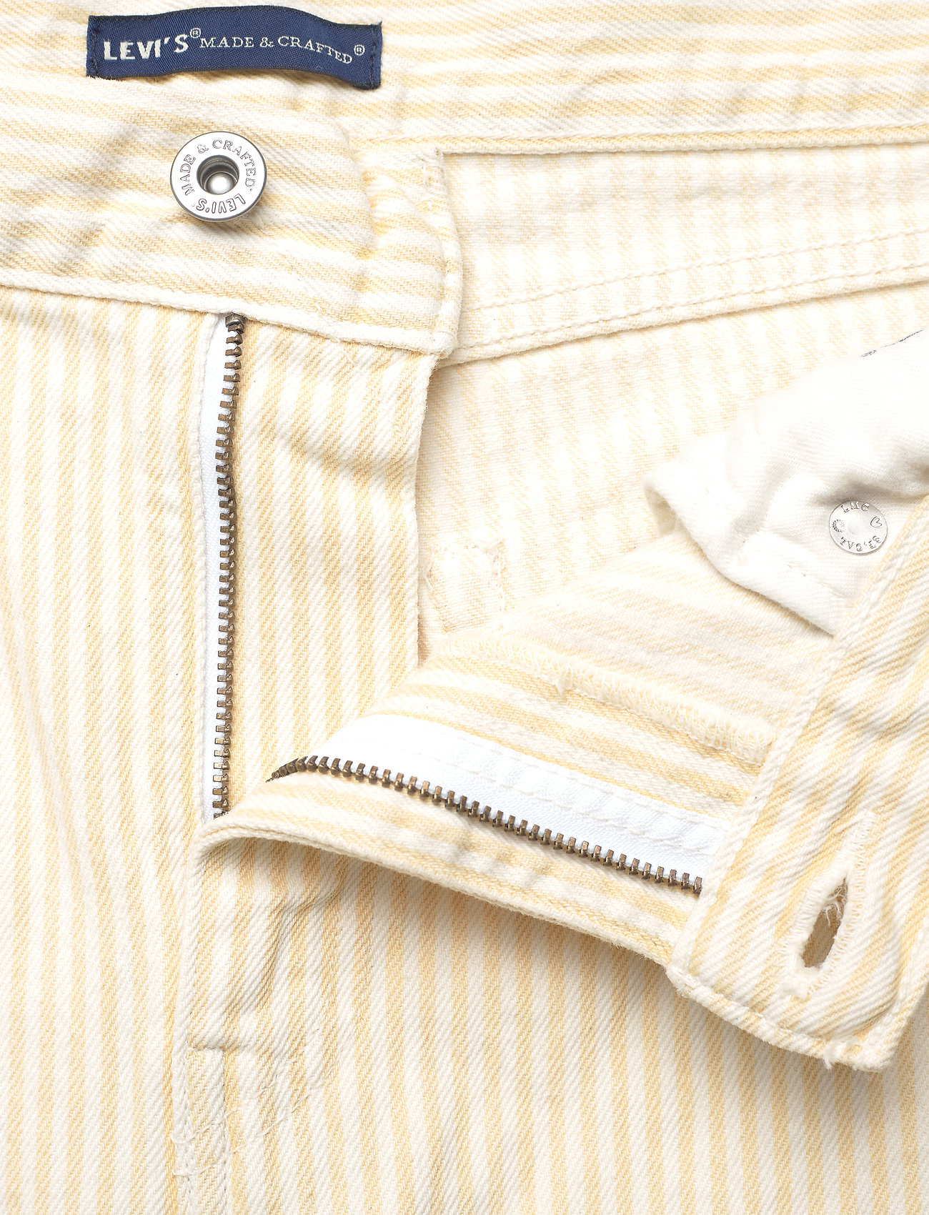 Levi's Made & Crafted - LMC PIPE STRAIGHT LMC SOLEIL - straight regular - yellows/oranges - 3