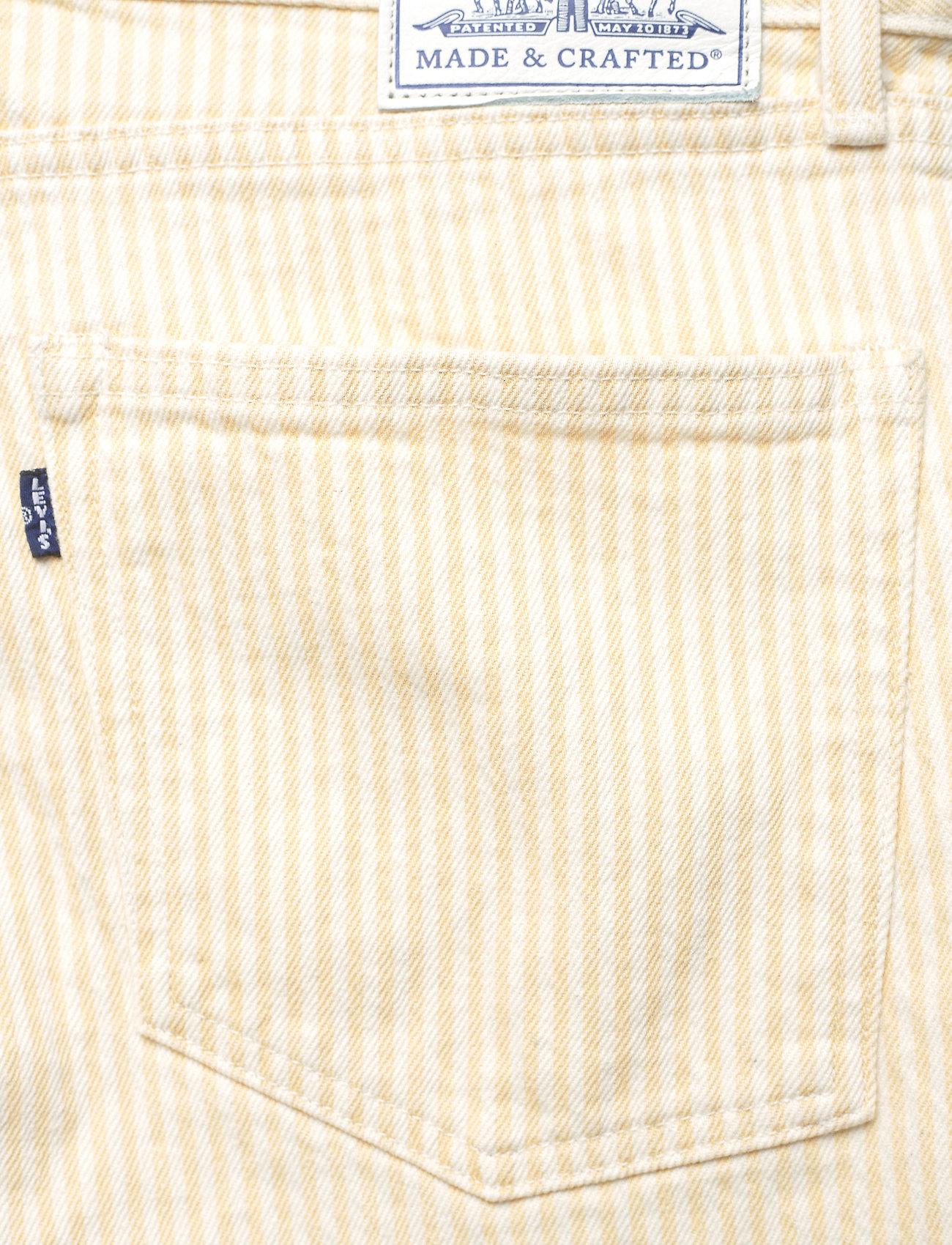 Levi's Made & Crafted - LMC PIPE STRAIGHT LMC SOLEIL - straight regular - yellows/oranges - 4