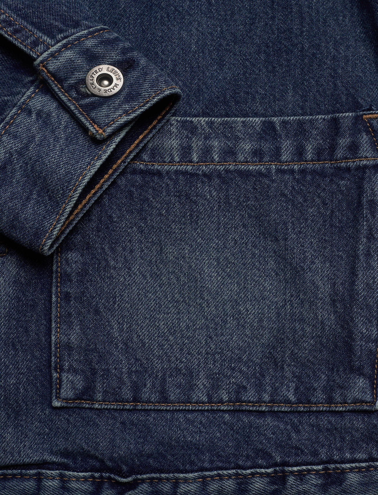 Levi's Made & Crafted LMC TYPE II WORN TRUCKER LMC Y - Jakker og frakker MED INDIGO - WORN IN - Menn Klær