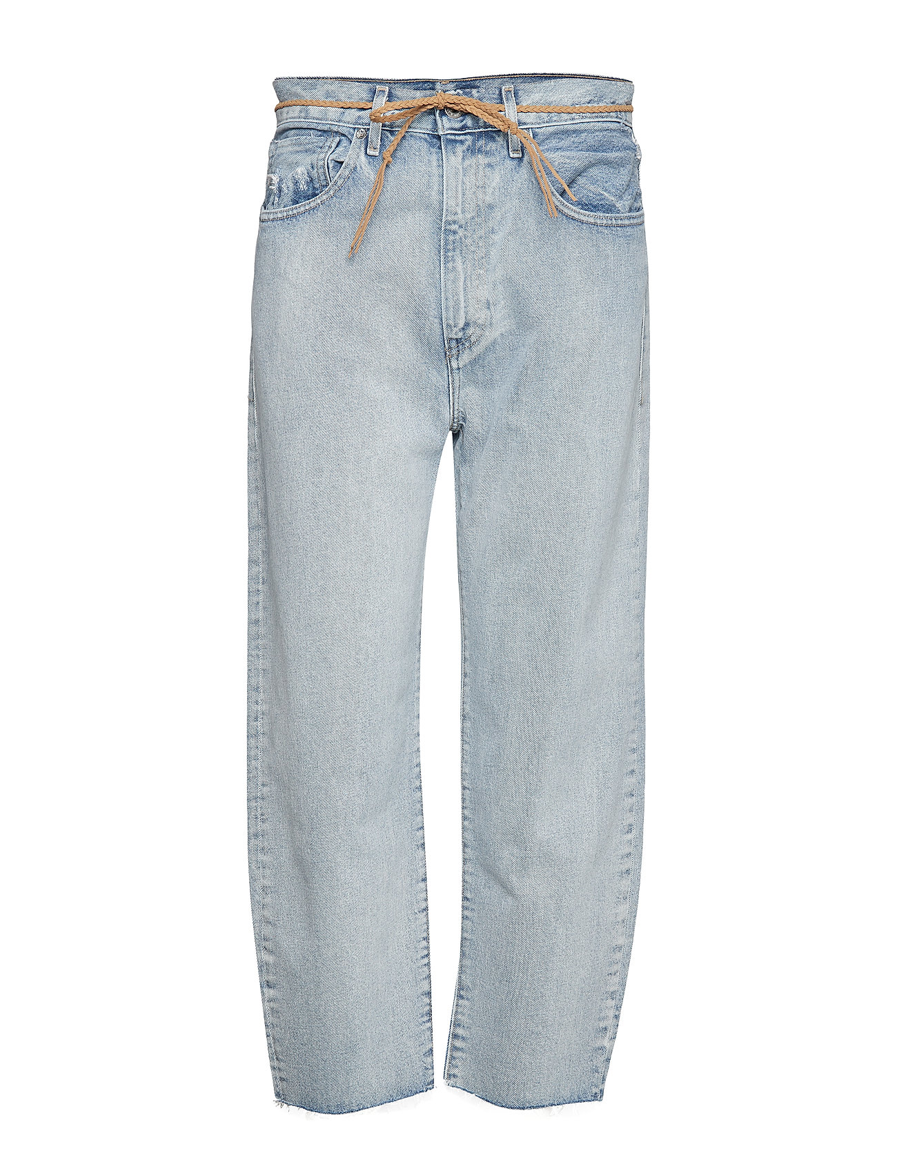 Levi's Made & Crafted LMC BARREL LMC CRISP SKY - LIGHT INDIGO - WORN IN