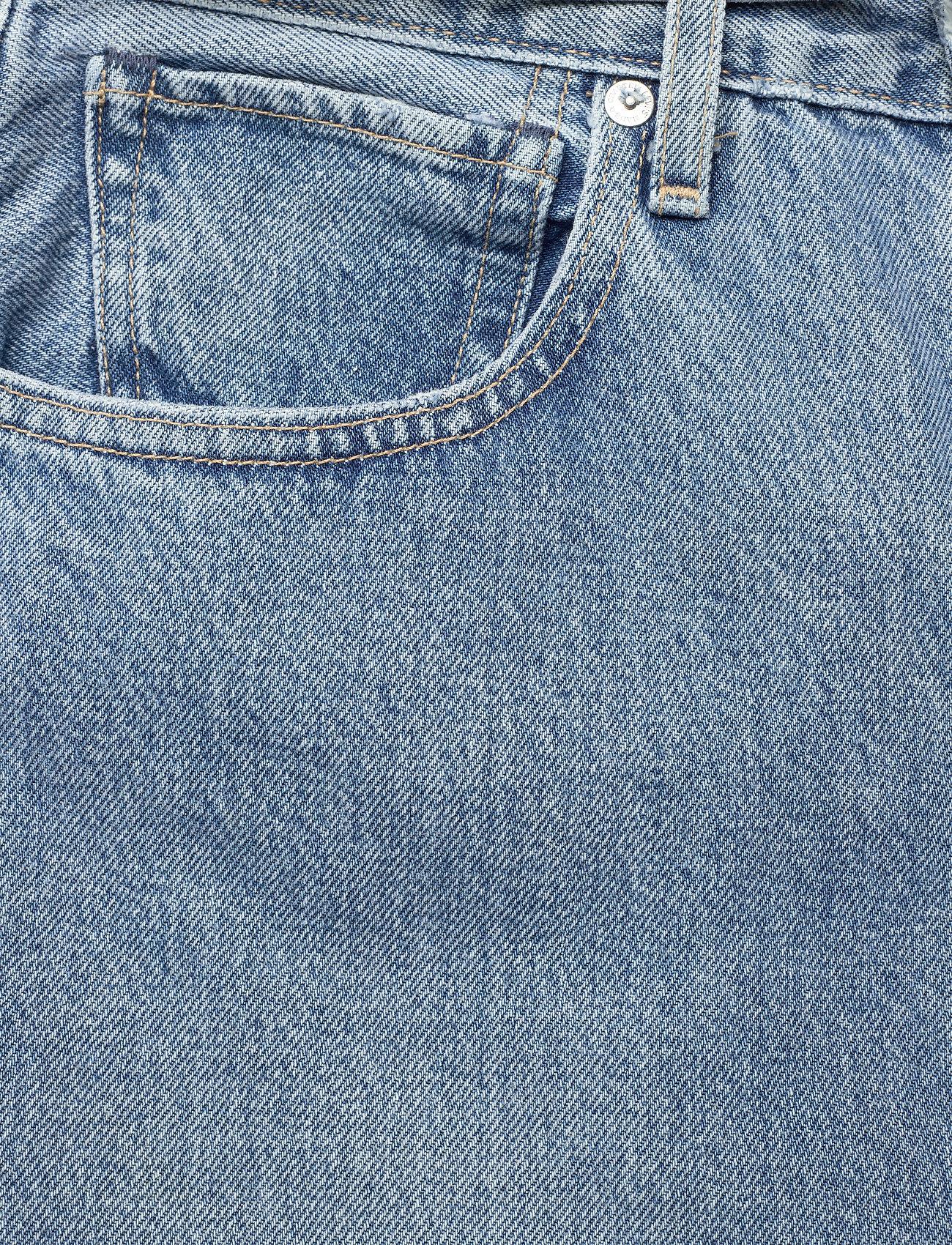 Levi's Made & Crafted - LMC BARREL LMC PALM BLUES - straight regular - med indigo - flat finish - 2
