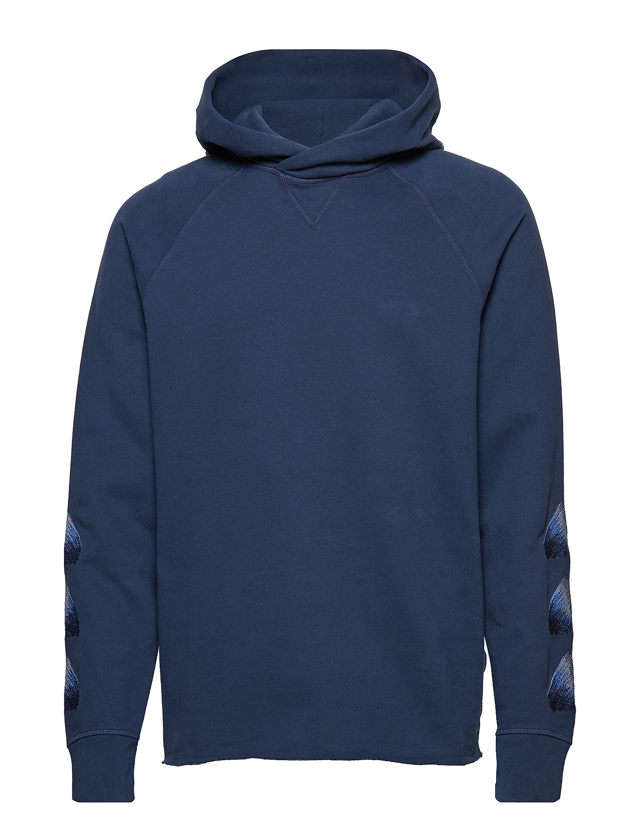 c6a6d0ed31 Lmc Unhemmed Hoodie Moonlight (Blues) (£130) - Levi s Made   Crafted ...