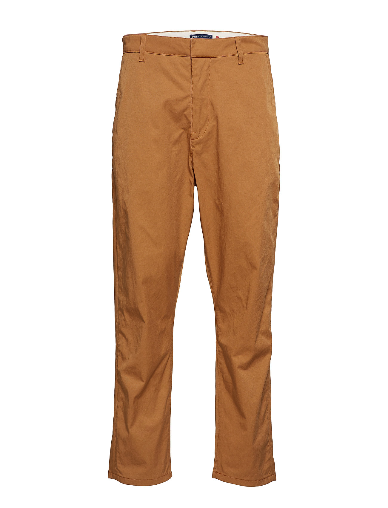 Levi's Made & Crafted LMC TAPER TROUSER LMC TOBACCO - YELLOWS/ORANGES