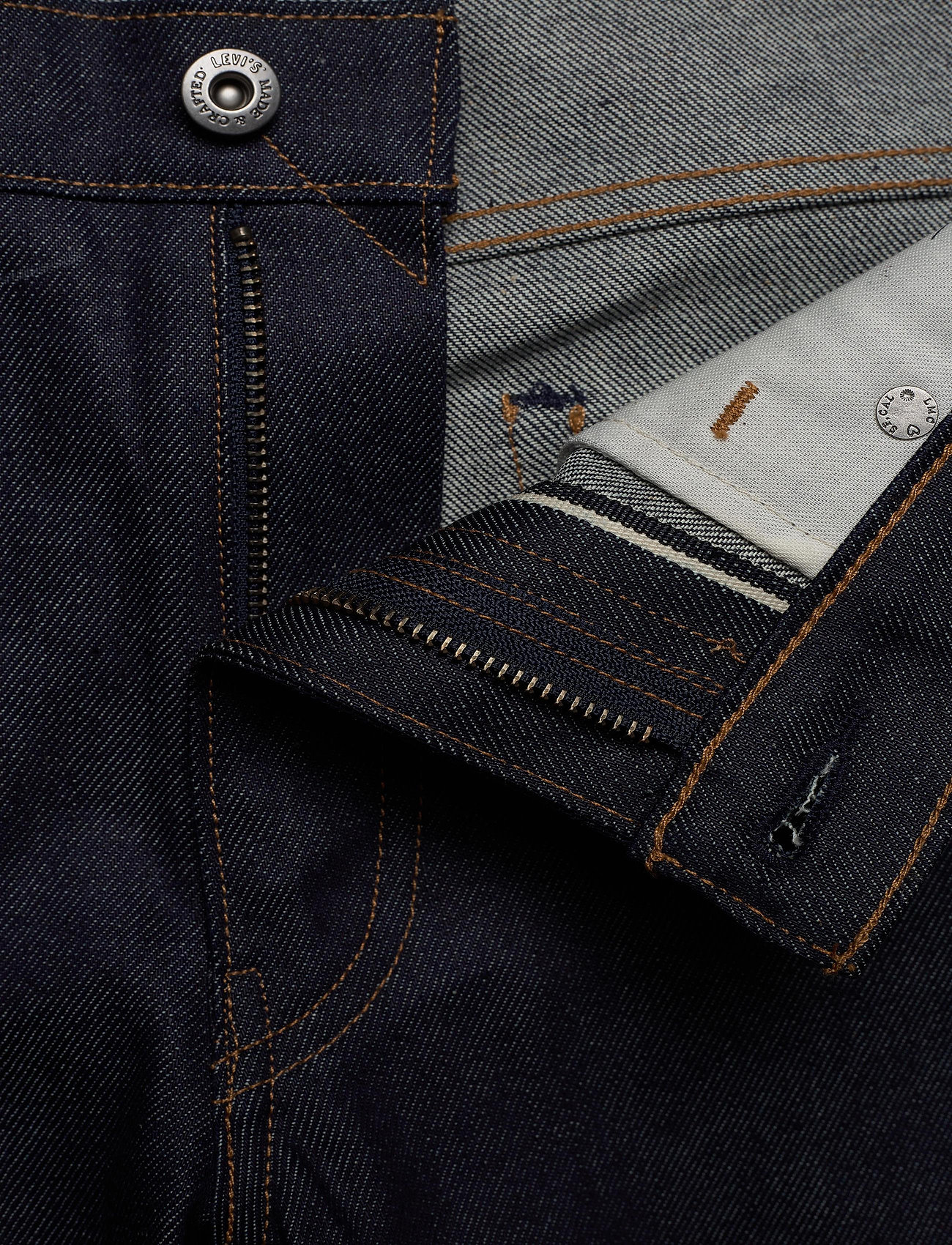Levi's Made & Crafted - LMC 511 LMC CRISP MOJ - slim jeans - dark indigo - flat finish - 3