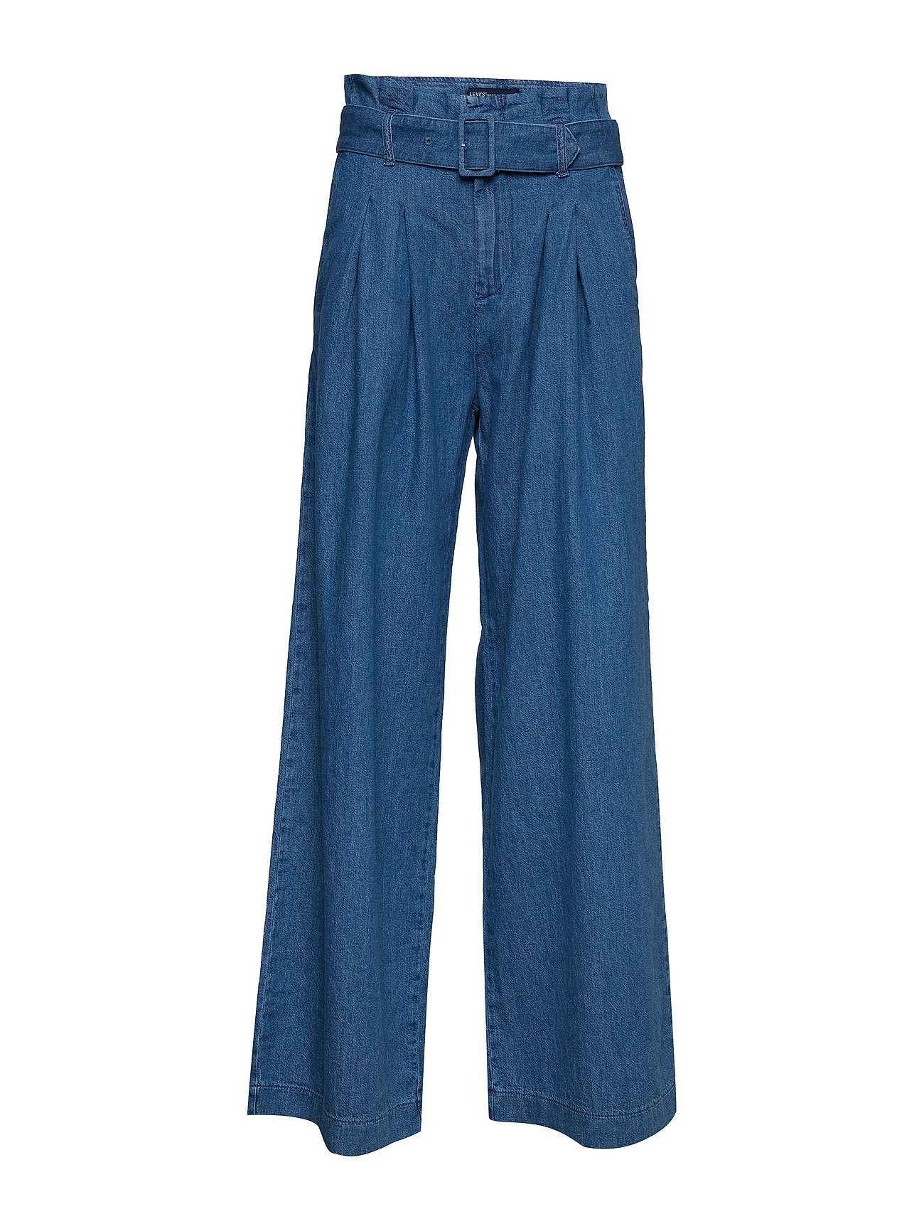 Levi's Made & Crafted LMC SCOUT PANT LMC COMFORT DEN - MED INDIGO - WORN IN