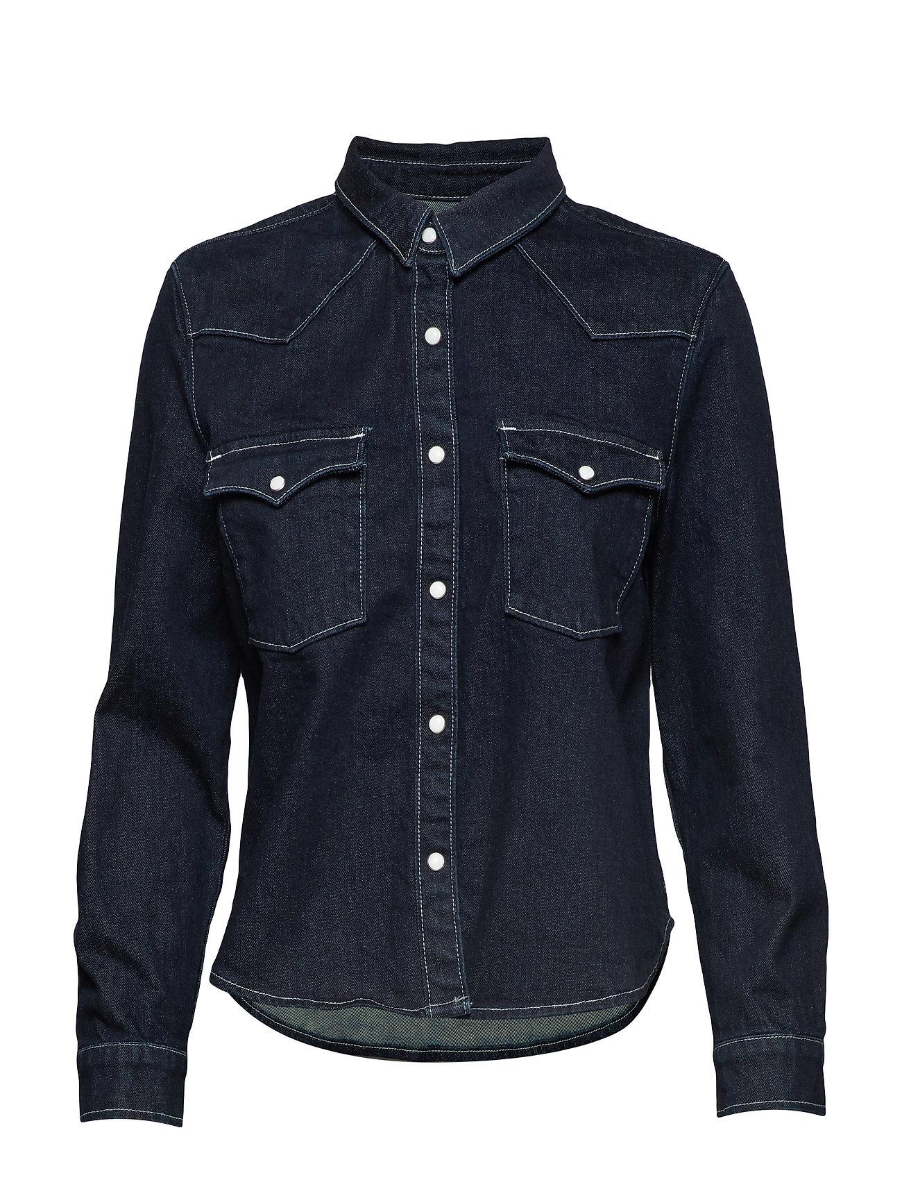 Shirt Shrdark Crafted IndigoFlat Madeamp; S Dnm FinishLevi's Lmc Shrnkn Yf6ybv7g