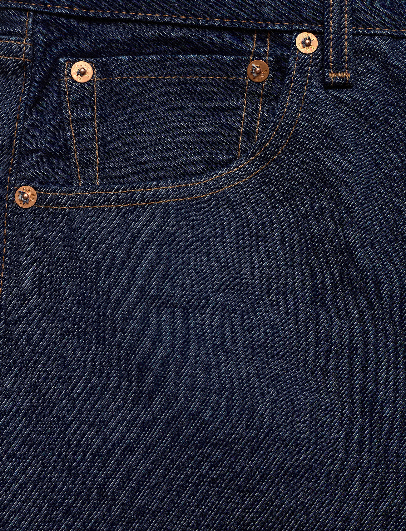 Levi's Made & Crafted 501 93 STRAIGHT LMC EVEREST - Jeans DARK INDIGO - FLAT FINISH - Menn Klær