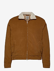 Levi's Made & Crafted - LMC QUILTED ZIP JACKET LMC DAR - denim jackets - neutrals - 0