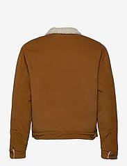 Levi's Made & Crafted - LMC QUILTED ZIP JACKET LMC DAR - denim jackets - neutrals - 2