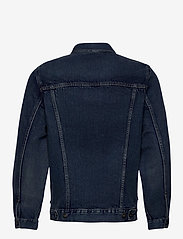 Levi's Made & Crafted - LMC TYPE II WORN TRUCKER LMC Y - kurtki dżinsowe - med indigo - worn in - 1