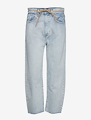 Levi's Made & Crafted - LMC BARREL LMC CRISP SKY - light indigo - worn in - 0
