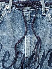 Levi's Made & Crafted - LMC BARREL LMC LEGEND - boyfriend jeans - med indigo - worn in - 5