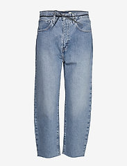 Levi's Made & Crafted - LMC BARREL LMC PALM BLUES - straight jeans - med indigo - flat finish - 0