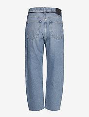 Levi's Made & Crafted - LMC BARREL LMC PALM BLUES - straight jeans - med indigo - flat finish - 1