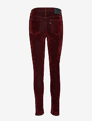 Levi's Made & Crafted - LMC 721 LMC VELVET ROPES - pantalons slim - reds - 1