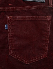 Levi's Made & Crafted - LMC 721 LMC VELVET ROPES - pantalons slim - reds - 4