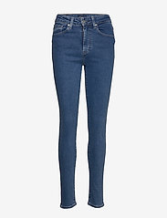 Levi's Made & Crafted - LMC 721 LMC BLUE POOL - skinny farkut - med indigo - flat finish - 0