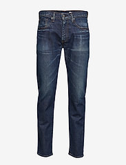 Levi's Made & Crafted - LMC 502 LMC MATSU CLEAN MIJ - slim jeans - med indigo - worn in - 0