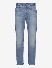 Levi's Made & Crafted - LMC 502 LMC LEWARD - regular jeans - med indigo - worn in - 0