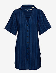 Levi's Made & Crafted - LMC FRIDA DRESS LMC INKY PONCH - tunikat - blues - 0
